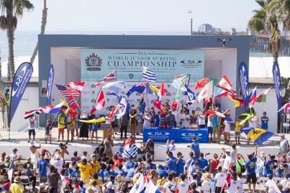 2015 VISSLA ISA WORLD JUNIOR SURFING CHAMPIONSHIP IS OFFICIALLY OPEN