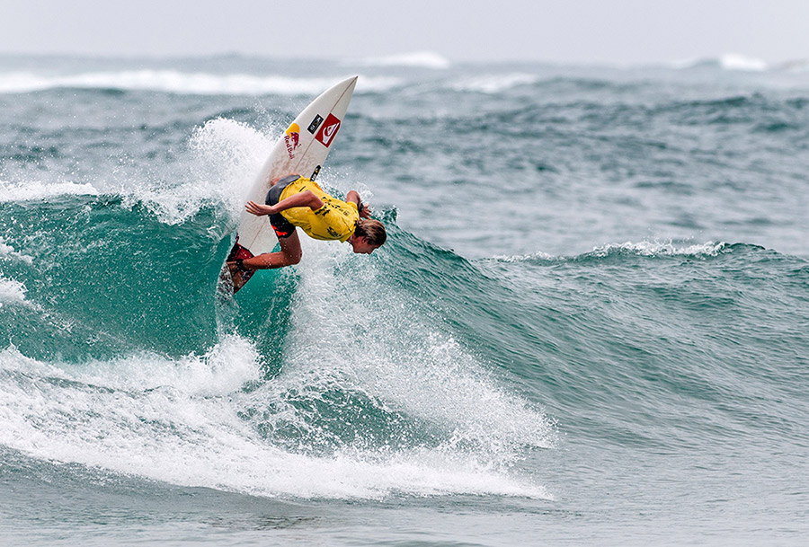Silver Medalist at the 2013 ISA World Junior Surfing Championship, Leonardo Fioravanti, will represent Italy and look for his first ISA Gold Medal. Photo: ISA/Rommel Gonzales