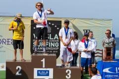 Boys U-16: Gold: Thomas Debierre - FRA Silver: Kyuss King - AUS Bronze: Yuji Mori - JAP Copper: Yuji Nishi - JAP . PHOTO: ISA / Rezendes