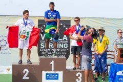 Boys U-18: Gold: Wesley Dantas - BRA Silver: Alonso Correa - PER Bronze: Harley Ross - AUS Copper: Colin Doyez - FRA. PHOTO: ISA / Rezendes