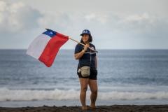 Paula Muñoz - Chile Surfing Federation President. PHOTO: ISA / Evans