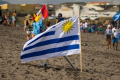 Flag of Uruguay. PHOTO: ISA / Evans