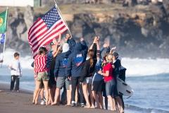 team USA.PHOTO: ISA / Rezendes