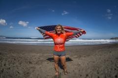 USA - Caroline Marks. PHOTO: ISA / Evans