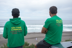 Team Sao Tome e Principe. PHOTO: ISA/ Rezendes