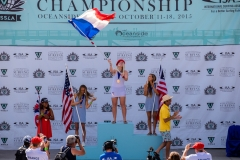 Medals Girls U18. Photo: ISA/ Chris Grant
