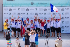 Medals Team France. Photo: ISA/ Chris Grant