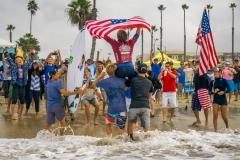 USA - Stevie Pittman Win Isa. PHOTO: ISA / Evans