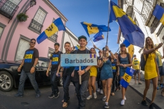 Team Barbados. PHOTO: ISA / Evans