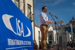 Dr. Alexandre Gaudencio -  Mayor of Ribeira Grande.PHOTO: ISA / Evans