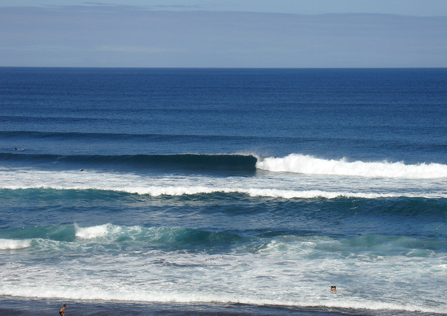 The beautiful Azores islands and their powerful waves will host the 2016 VISSLA ISA World Junior Surfing Championship. Photo: Portuguese Surfing Federation