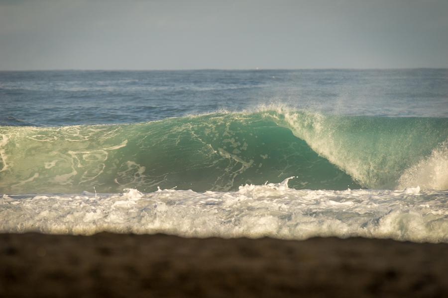 Comparado a ayer, el swell perdió un poco de tamaño, pero aun mantiene el mismo nivel de poder. Foto: ISA/Sean Evans