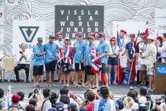 Team Hawaii ISA Aloha Cup Silver Medalist. PHOTO: ISA / Ben Reed