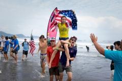 USA - Alyssa Spencer Champ. PHOTO: ISA / Sean Evans