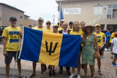 Team Barbados. PHOTO: ISA / Evans