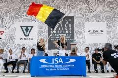 Team Belgium. PHOTO: ISA / Ben Reed