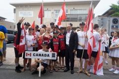 Team Canada. PHOTO: ISA / Evans