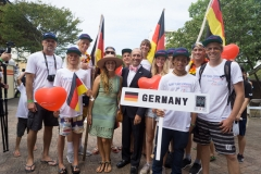 Team Germany. PHOTO: ISA / Evans