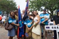 Team Guam. PHOTO: ISA / Evans