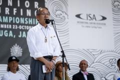 Mayor of Hyuga, Kouhei Toya. PHOTO: ISA / Ben Reed