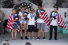 USA - ISA Aloha Cup Gold Ceremony. PHOTO: ISA / Ben Reed