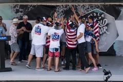 USA - Silver Medalist. PHOTO: ISA / Ben Reed