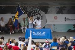 Team Barbados. PHOTO: ISA / Ben Reed