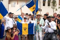 Team Barbados. PHOTO: ISA / Sean Evans