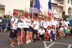 Team France. PHOTO: ISA / Sean Evans
