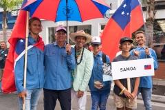 Team Samoa. PHOTO: ISA / Sean Evans
