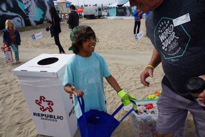 Surfrider Foundation Beach Cleanup