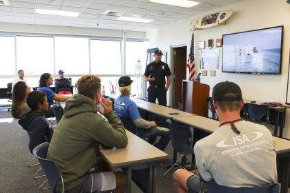 Huntington Beach Lifeguard safety and training course