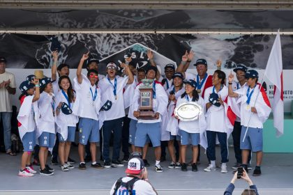 Team Japan Makes History, Wins First Junior Team Gold at 2018 VISSLA ISA World Junior Surfing Championship