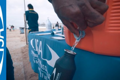 Sustainability at the 2018 VISSLA ISA Juniors