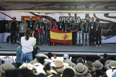 Copper Medalist Team Spain. PHOTO: ISA / Ben Reed