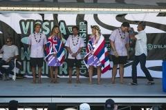 Team Hawaii - Copper Medalist ISA Aloha Cup. PHOTO: ISA / Ben Reed