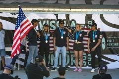 Team USA - Gold  Medalist ISA Aloha Cup. PHOTO: ISA / Ben Reed