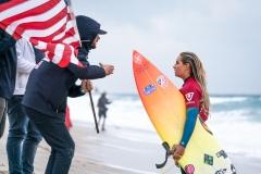 USA - Samantha Sibley. PHOTO: ISA / Sean Evans