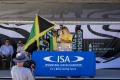 Team Jamaica. PHOTO: ISA / Ben Reed