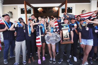 Estados Unidos Reclama el Oro por Equipos en el VISSLA ISA World Juniors 2019