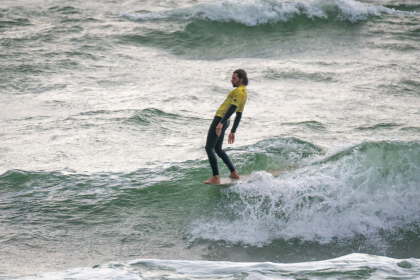Men's Longboard Division Slides into Spotlight at Côte des Basques