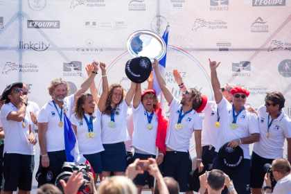 Domination from Host Nation in Biarritz, Team France Crowned Longboard Team World Champion