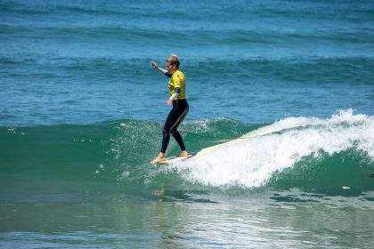 France and USA Share Pole Position Heading into Finals Day at ISA World Longboard Surfing Championship