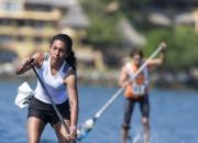 Womens Sup Race Isa. Photo: ISA / Brian Bielmann