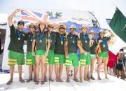 Team AUS - PHOTO: ISA/ Brian Bielmann