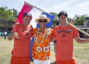 Team Holland with ISA President Fernando Aguerre. Photo: ISA / Brian Bielmann