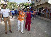 ISA President Fernando Aguerre & Florencia Gomez Gerbi. Photo: ISA / Brian Bielmann