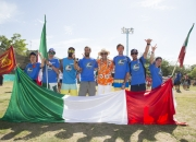 Team Italy with ISA President Fernando Agurre. Photo: ISA / Brian Bielmann