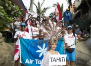 Team Tahiti. Photo: ISA / Brian Bielmann