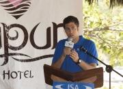 ISA Marketing and Media Manager Carlos Escaba - Photo: ISA / Reed